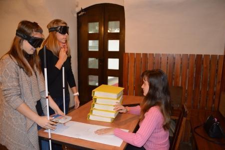 Prikaz Knjižnice slepih in slabovidnih