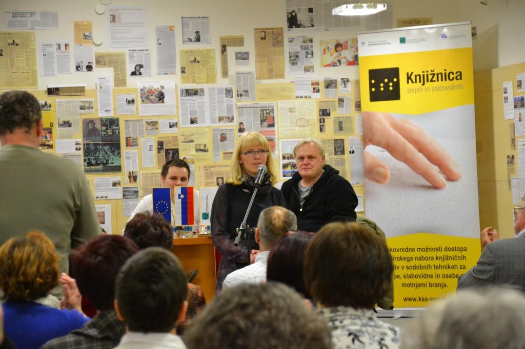 Znani Slovenci berejo – Novo mesto – Matjaž Berger in Pavle Ravnohrib