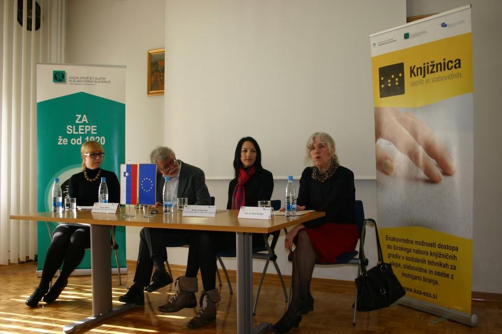 (Slovensko) Tiskovna konferenca ob letu dni izvajanja projekta