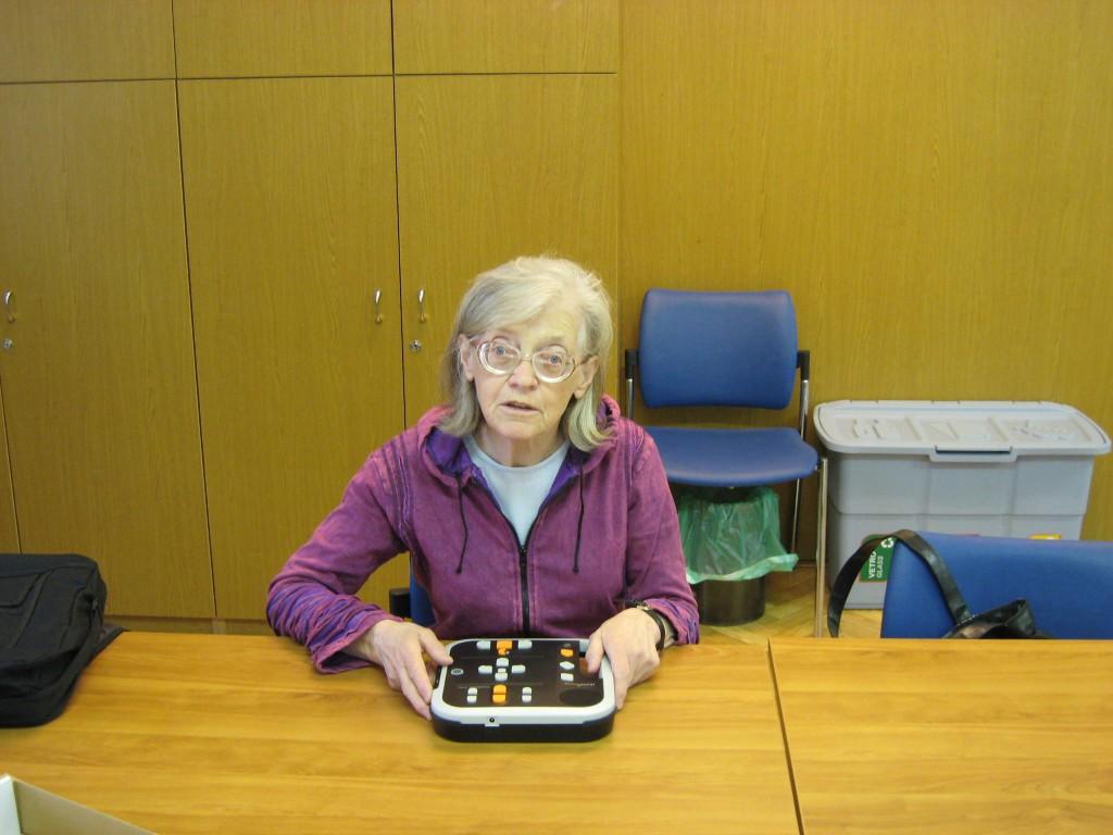 MDSS LJUBLJANA –  Individualna delavnica – Spoznaj se z informacijsko-komunikacijskimi tehnologijami (IKT) knjižnice slepih in slabovidnih