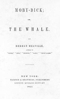 Kaj brati? Herman Melville: Beli kit