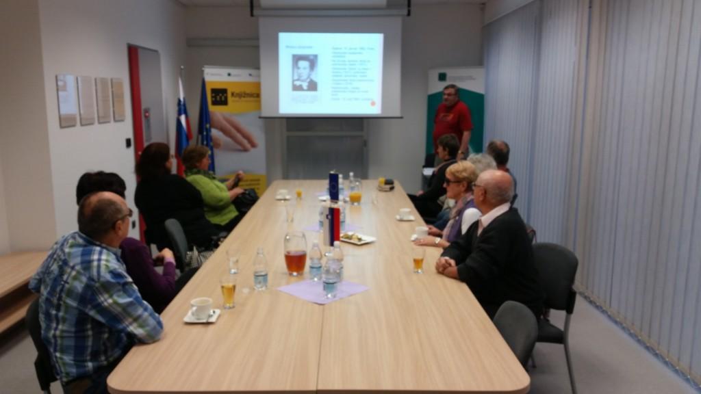 Obisk MDSS Novo mesto v prostorih knjižnice slepih in slabovidnih Minke Skaberne